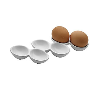 Lakeland White Ceramic Egg Storage Tray