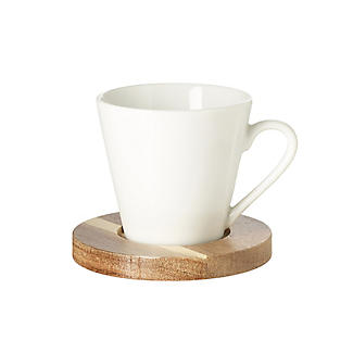 Lakeland 4pc Espresso Cup and Coaster Gift Set alt image 4