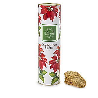 Grandma Wild's Poinsettia Tube with Oat Biscuits - 200g