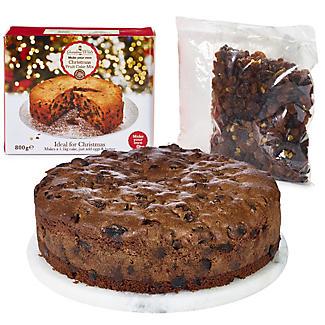 Grandma Wild's Make-Your-Own Christmas Fruit Cake Mix
