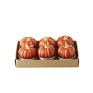 Lakeland Pumpkin Tealights – Pack of 6