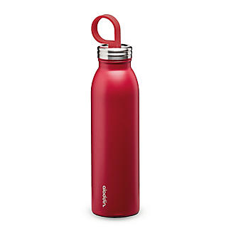 Aladdin Thermavac Stainless Steel Water Bottle Cherry Red 550ml