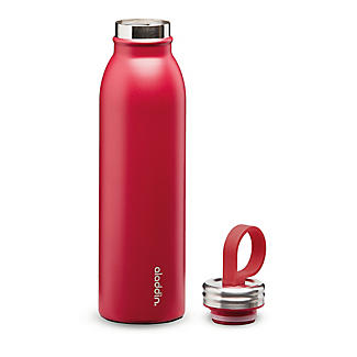 Aladdin Thermavac Stainless Steel Water Bottle Cherry Red 550ml alt image 2