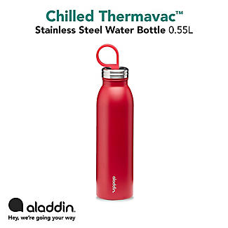 Aladdin Thermavac Stainless Steel Water Bottle Cherry Red 550ml alt image 4