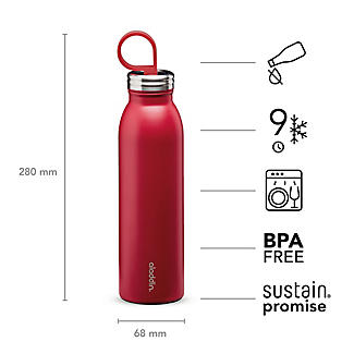 Aladdin Thermavac Stainless Steel Water Bottle Cherry Red 550ml alt image 5