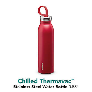 Aladdin Thermavac Stainless Steel Water Bottle Cherry Red 550ml alt image 6
