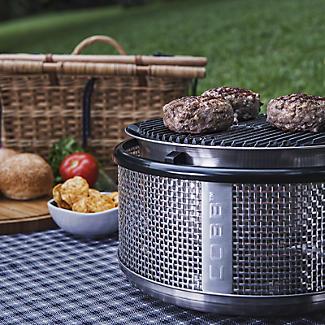 Cobb Premier Air Barbecue and Smoke Free Cobble Stones Bundle alt image 2