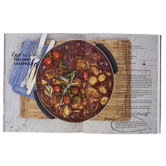 Cobb Barbecue Cobble Stones with Cook Book and Pizza Stone Bundle alt image 2