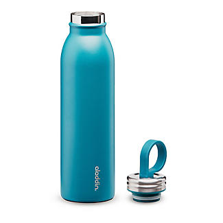 Aladdin Thermavac Stainless Steel Water Bottle Aqua Blue 550ml alt image 2