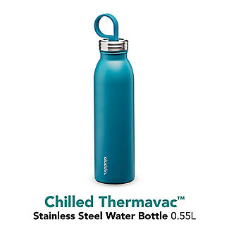 Aladdin Thermavac Stainless Steel Water Bottle Aqua Blue 550ml alt image 6