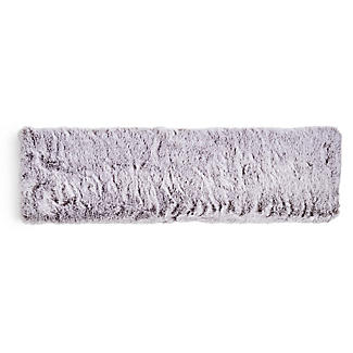 Grey Faux Fur Microwavable Body Wrap