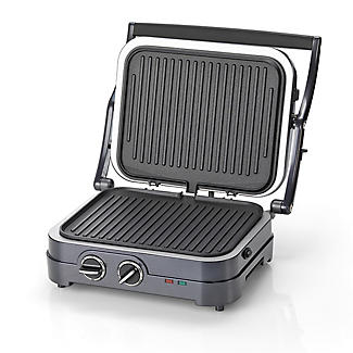 Cuisinart Griddle and Grill Midnight Grey GR47BU  alt image 3