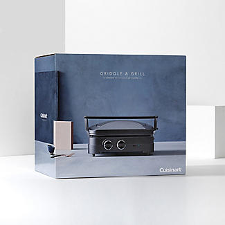 Cuisinart Griddle and Grill Midnight Grey GR47BU  alt image 9
