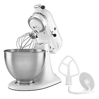 KitchenAid Classic Stand Mixer White 5K45SSBWH alt image 10