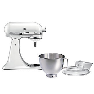 KitchenAid Classic Stand Mixer White 5K45SSBWH alt image 11