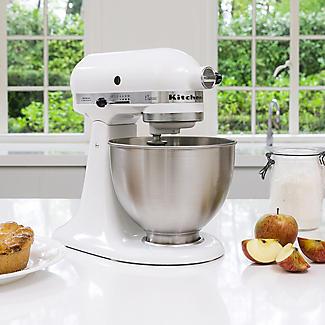 KitchenAid Classic Stand Mixer White 5K45SSBWH alt image 3