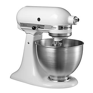 KitchenAid Classic Stand Mixer White 5K45SSBWH alt image 8