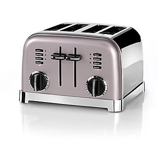 Cuisinart 4-Slice Toaster Vintage Rose CPT180PU