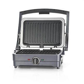 Cuisinart 2-in-1 Grill and Sandwich Maker Midnight Grey GRSM4U alt image 1