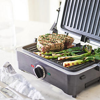Cuisinart 2-in-1 Grill and Sandwich Maker Midnight Grey GRSM4U alt image 5