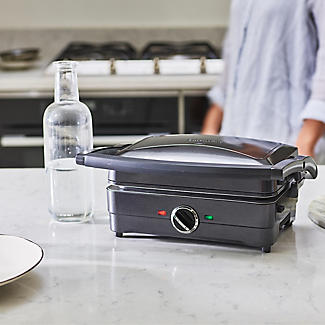 Cuisinart 2-in-1 Grill and Sandwich Maker Midnight Grey GRSM4U alt image 6
