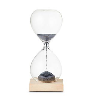 Kikkerland Magnetic Hourglass Timer – 60 Second Countdown