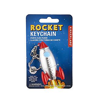 Kikkerland Rocket Keychain Key Ring alt image 2
