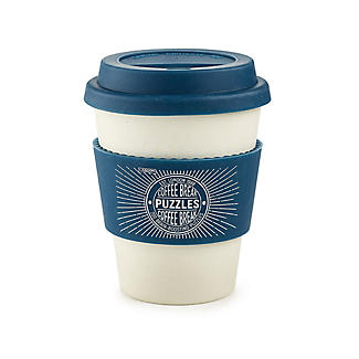 200 Coffee Break Brain Boosting Puzzles with Reusable Coffee Cup alt image 2