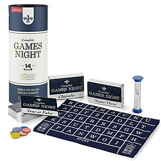 Complete Games Night in Whisky Gift Box