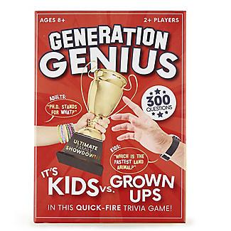 Generation Genius Kids v Grown Ups Battle of the Ages Trivia alt image 2