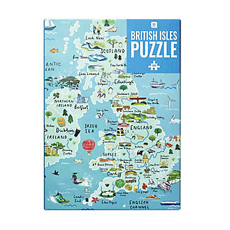 Talking Tables British Isles Tourism Map Jigsaw Puzzle – 1000 Pieces