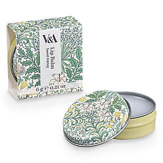 V&A Floral Lip Balm 20g - Flavour May Vary