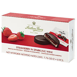 Strawberry in Sparkling Wine Chocolate-Covered Marzipan 220g alt image 2