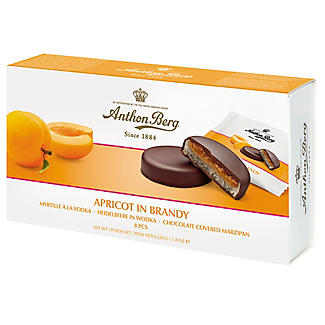 Apricot in Brandy Chocolate-Covered Marzipan 220g alt image 2