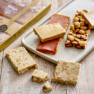 4 x 80g Bars of Torrons Vicens Nougat – Selection Pack alt image 2