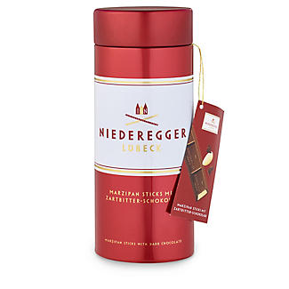 Niederegger Dark Chocolate Marzipan Sticks Tin 320g