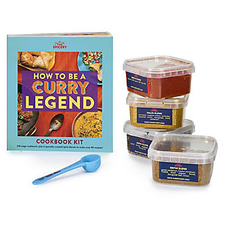 The Spicery How To Be A Curry Legend Book and Spice Blends Kit