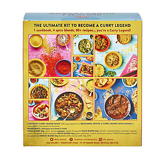 The Spicery How To Be A Curry Legend Book and Spice Blends Kit alt image 3