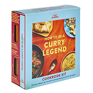 The Spicery How To Be A Curry Legend Book and Spice Blends Kit alt image 4
