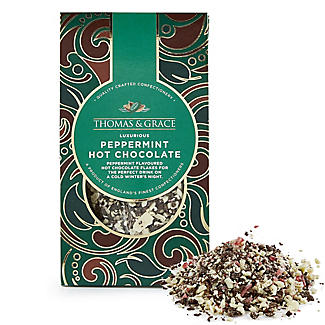 Thomas & Grace Peppermint Luxury Hot Chocolate Flakes 160g