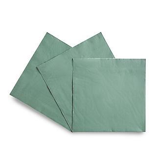 30 Green Paper Napkins