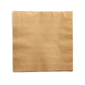 30 Gold Paper Napkins alt image 2