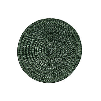 Set of 4 Ribbed Green Coasters alt image 3