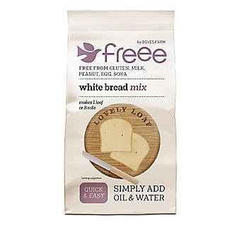 Doves Farm Freee Gluten Free White Bread Mix 500g