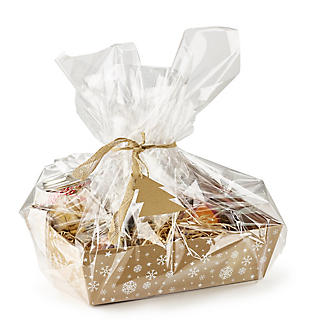 Kraft Snowflake Make-Your-Own Hamper Kit alt image 3