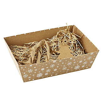 Kraft Snowflake Make-Your-Own Hamper Kit alt image 5