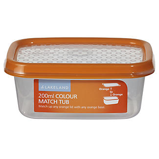 Colour Match Lidded Food Storage Containers 200ml x 3 alt image 2