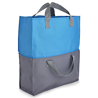 2-in-1 Shopping Trolley Tote Bags Set of 4 alt image 11