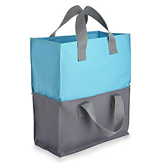 2-in-1 Shopping Trolley Tote Bags Set of 4 alt image 5