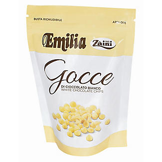Emilia Zaini White Chocolate Baking Chips 180g alt image 1